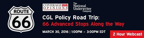 CGL Policy Road Trip Webcast